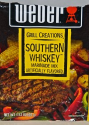 Weber Southern Whiskey Marinade